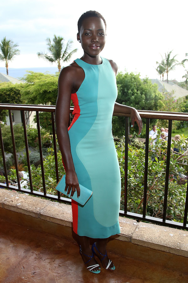 Same Style, Better Price: Lupita N'yongo's Maui Film Festival Look