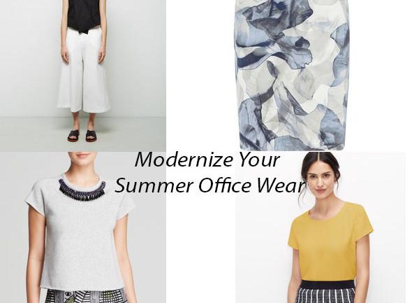 Modernize Your Summer Officewear