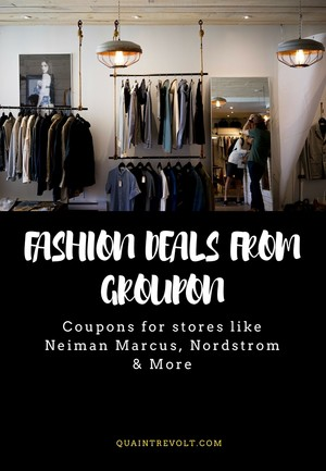 Fashion Deals You Didn't Know Were On Groupon
